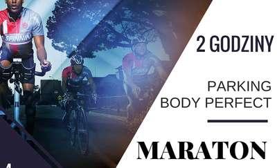 Dwie godziny na rowerze spinningowym, czyli czas na maraton