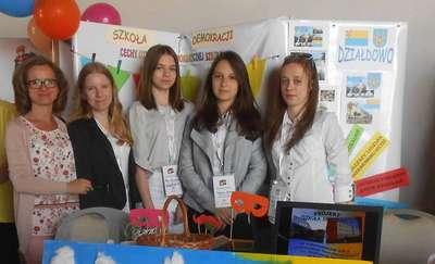 Uczniowie Gimnazjum nr 2 na Ogólnopolskiej Prezentacji Projektów Młodzieżowych