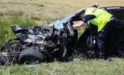Tragiczny wypadek pod Kronowem. Udało się odszukać świadka wypadku