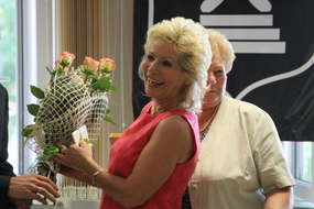 Irena Płoska odebrała podziękowania za wieloletnią pracę w Biurze rady Miasta