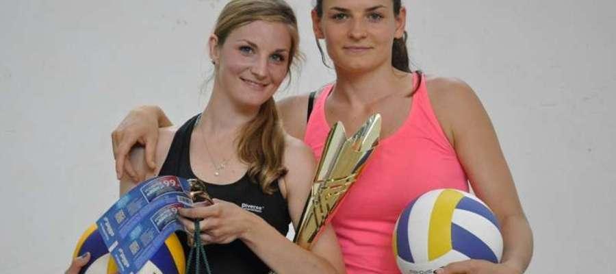 Od lewej: Sylwia Skowrońska i Agata Hirniak