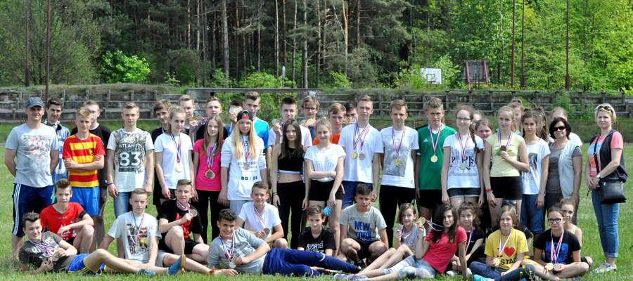 Gimnazjum nr 1 w Żurominie zdobył najwięcej medali
