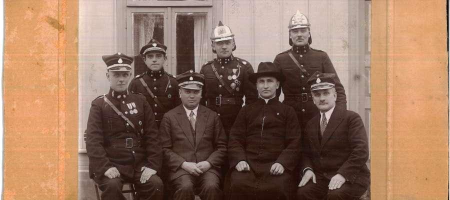 OSP Bieżuń, 21 maja 1932 r., Zbiory Muzeum Małego Miasta w Bieżuniu O/ MWM w Sierpcu.