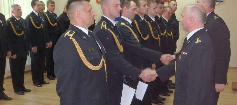 W ubiegłym tygodniu strażacy z KPPSP świętowali Dzień Strażaka