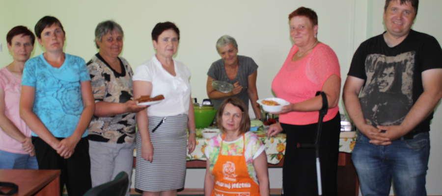 Uczestnicy warsztatów w Kuczborku