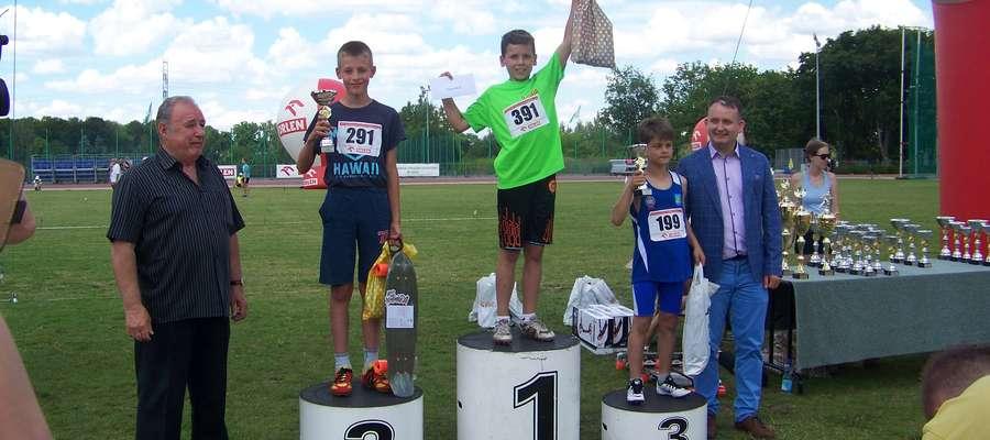 Mateusz Jackowski, najszybszy sprinter wśród 11-latków