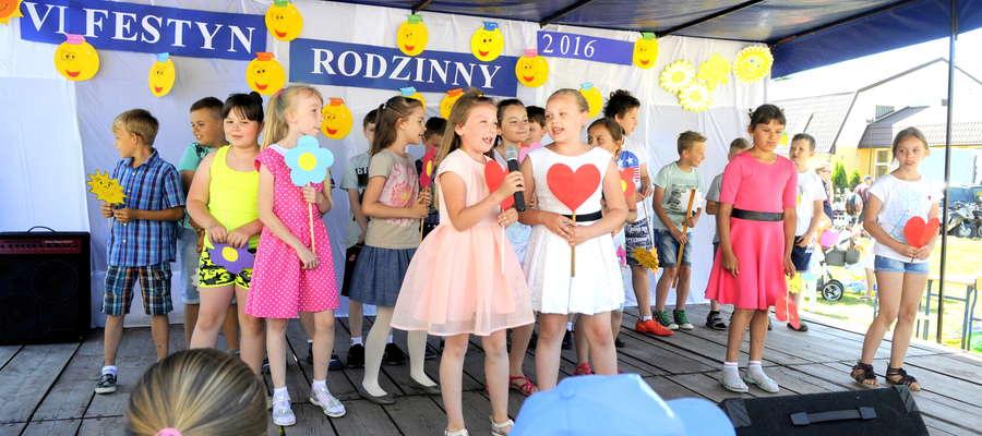 Na scenie zaprezentowali się też najmłodsi