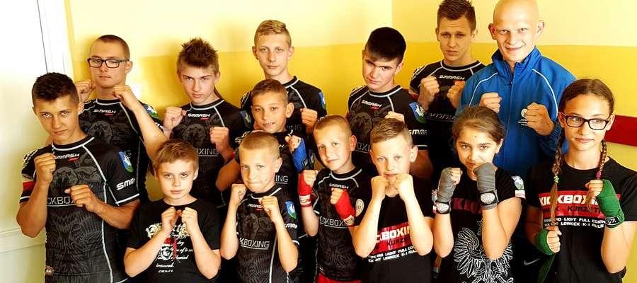 Ekipa Zamku - starsi i młodsi zawodnicy