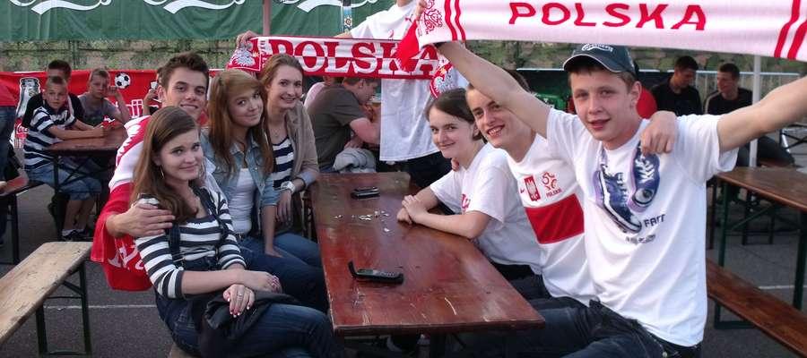 Mławianie podczas Euro 2012