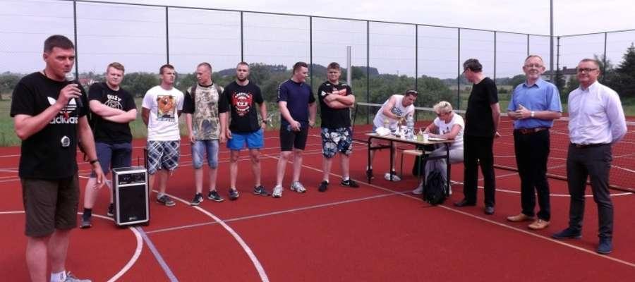 Uczestnicy zawodów sportowych