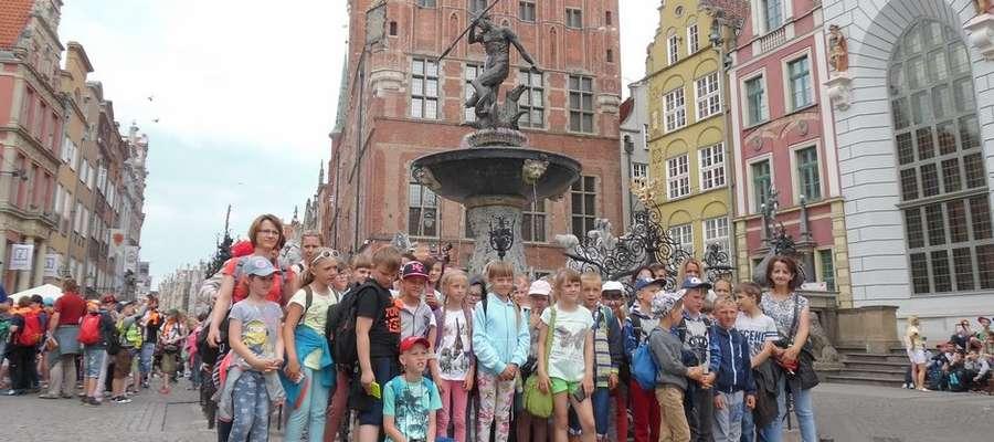 Na pamiątkowej fotografii z Gdańska