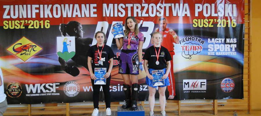 Lidia Święcka w Suszu zdobyła 2 złote medale