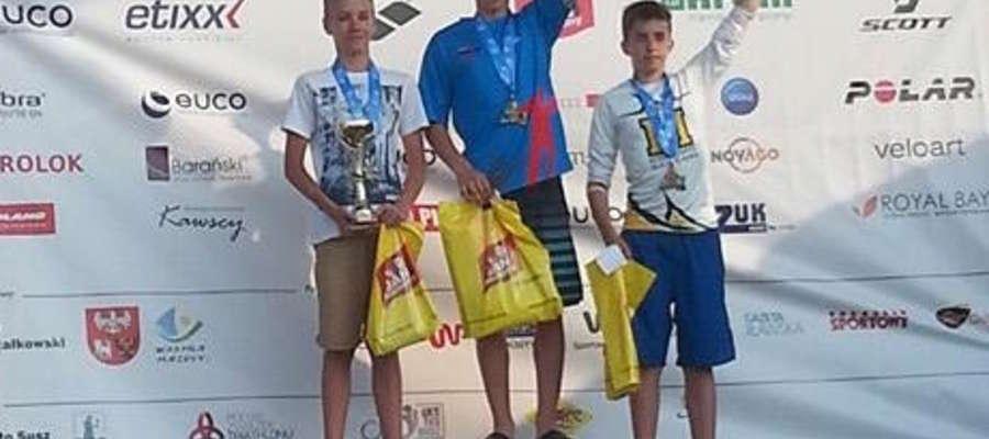 Maksymilian Kopiczko na najwyższym podium Mistrzostw Polski