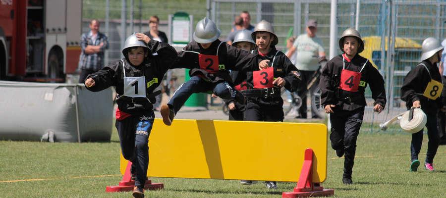 W Miejsko-Gminnych Zawodach Sportowo-Pożarniczych OSP wzięły udział 3 drużyny młodzieżowe.