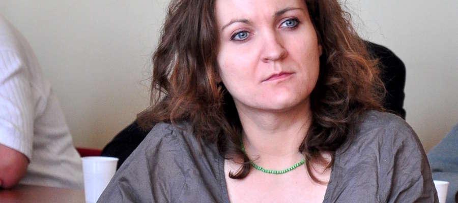 Wicedyrektor PUP Iława Agata Steiner - Dembińska była gościem poniedziałkowej sesji rady miejskiej Iława