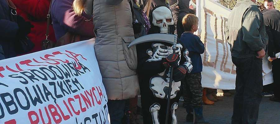 Protest mieszkańców trwa od lat