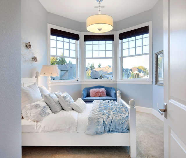 Nowojorski styl sypialni - full image