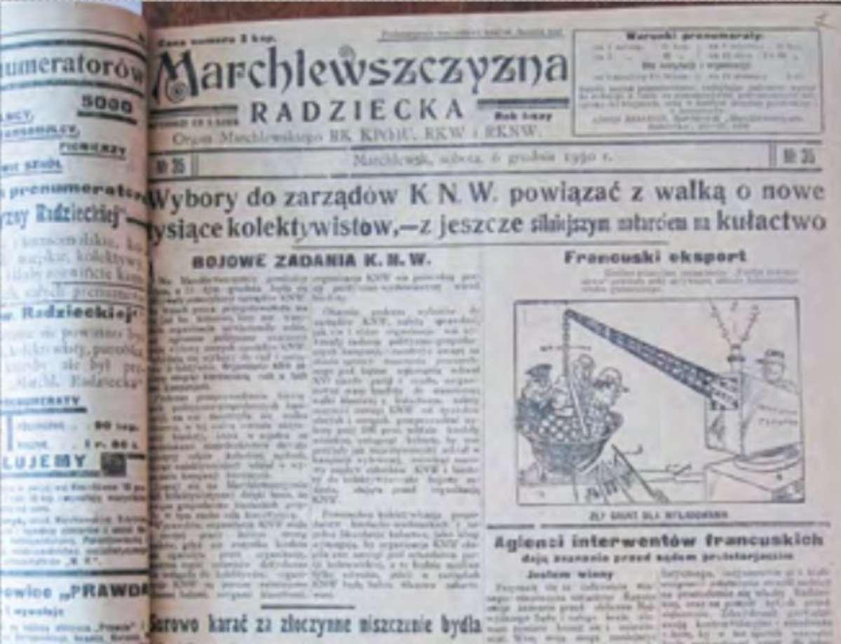 Powstanie i tragedia Rejonu Marchlewskiego - full image