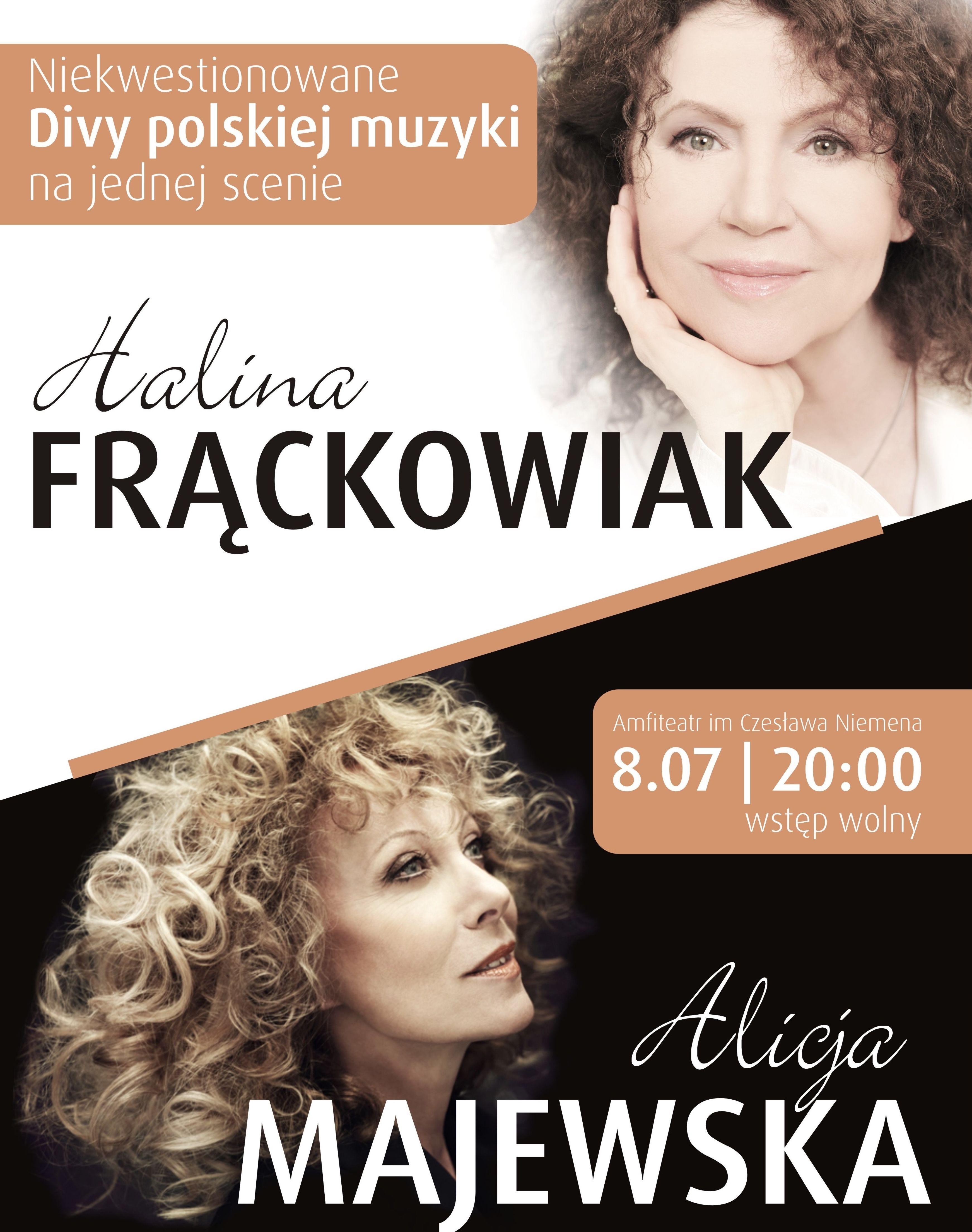 Diwy polskiej estrady na jednej scenie w Olsztynie