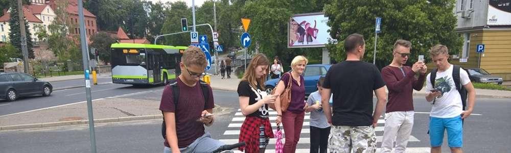 Weekendowe poszukiwanie pokemonów w Olsztynie