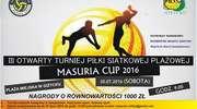 III Otwarty Turniej Piłki Siatkowej MASURIA CUP 2016
