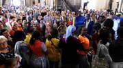 Koncert egzotycznych gości z Gabonu w nowomiejskiej bazylice kolgiackiej
