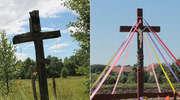 Postawili i poświęcili nowy krzyż na rozstajach dróg