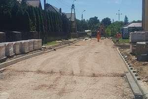 Przebudowa ulic w mieście