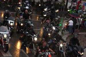 Parada motocykli przejechała ulicami Giżycka