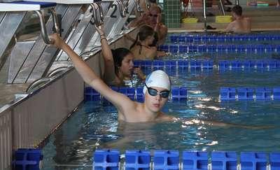 Zawody pływackie na chorzelskim basenie