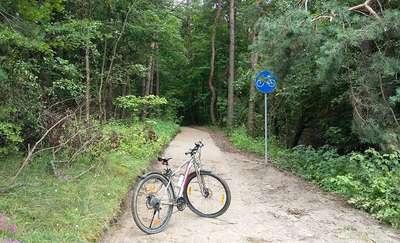 Nowa ścieżka rowerowa wzdłuż brzegów jeziora Ukiel