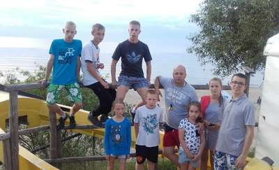 Wychowankowie Domu Dziecka w Pacółtowie nad morzem. To był udany wypoczynek