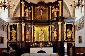 Stoczek Klasztorny: Zespół klasztorny księży Marianów i Kościół p.w. Nawiedzenia N.P. Maryi.