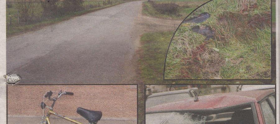 Tragiczny wypadek z udziałem rowerzysty w gminie Lutocin