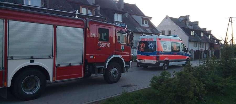 Pijana 29-latka z Dąbrówki postawiła na nogi służby ratunkowe. Do zdarzenia doszło w tym domu w Dąbrówce (gmina Susz)