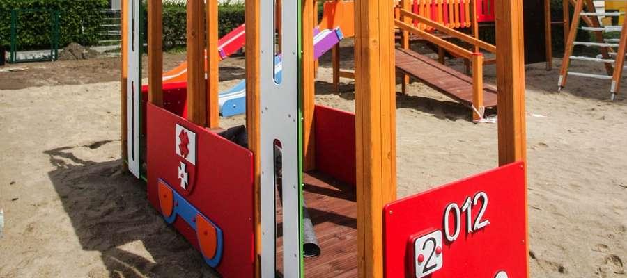Plac zabaw przy ul. Kościuszki