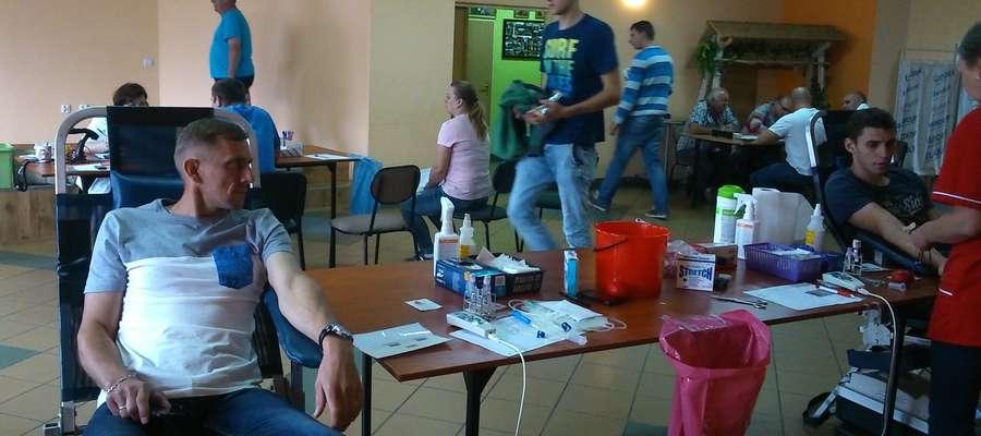 Podczas akcji poboru krwi w OSP Grodziczno