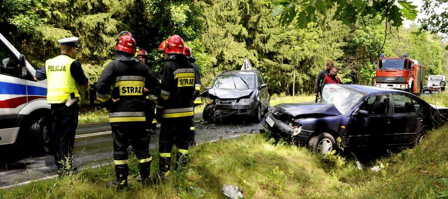 Wypadek pod Zieluniem