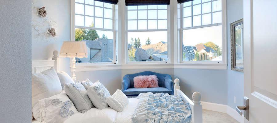 Nowojorski styl sypialni