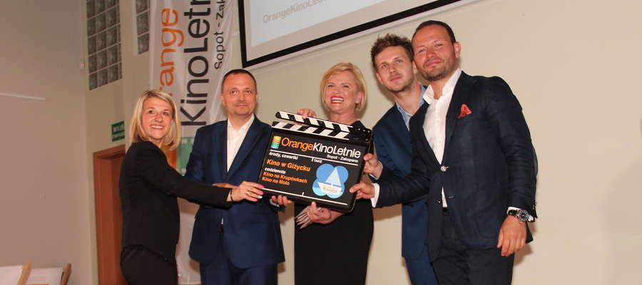 Uroczystość otwarcia Orange Kino Letnie w Giżycku
