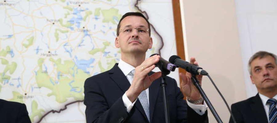 Wicepremier Morawiecki opowiadał w Olsztynie o planie na rzecz odpowiedzialnego rozwoju