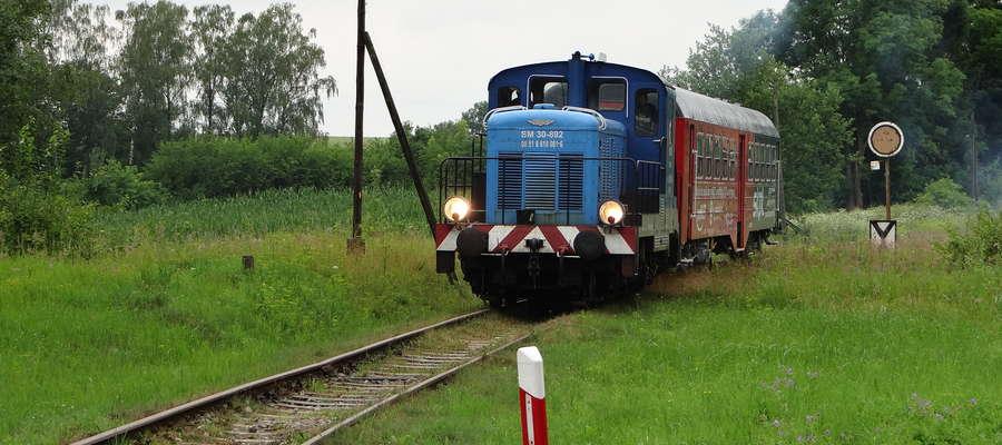 Pociągiem z Kętrzyna do Węgorzewa