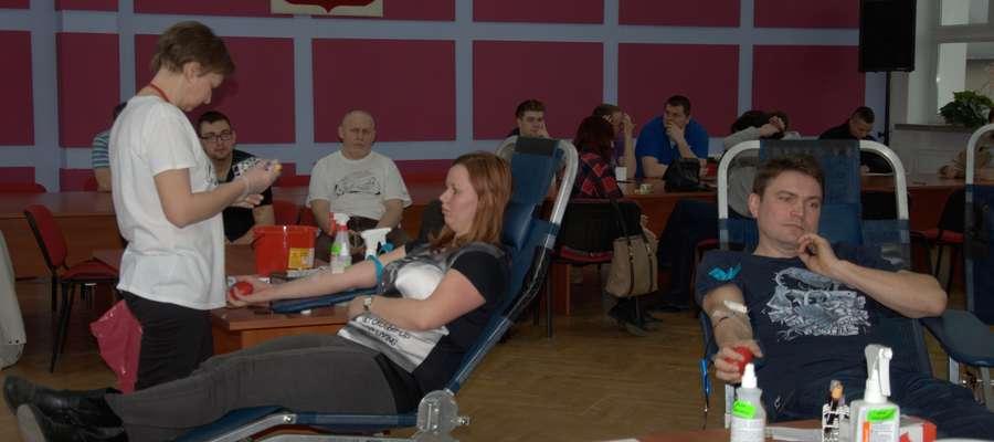 Po raz szósty w 2016 roku odbędzie się pobór krwi w straży w Nowym Mieście