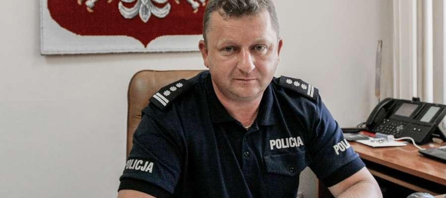 Komendant policji odchodzi na emeryturę. Na stanowisku był 7 miesięcy