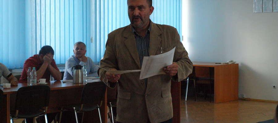 Rada Miejska poznała Janusza Kuklewicza