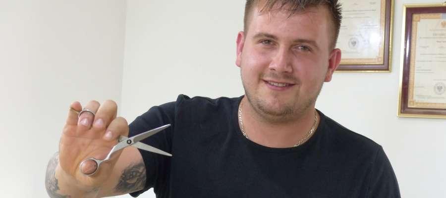 """Salon fryzjerski """"U Miłosza"""" zwyciężył w kategorii najpopularniejszy salon fryzjerski w powiecie piskim"""