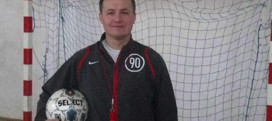 Ryszard Borkowski - nowy trener Znicza