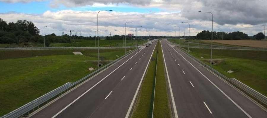 Węzeł Miłomłyn Północ i nowy odcinek S7 udostępniony kierowcom