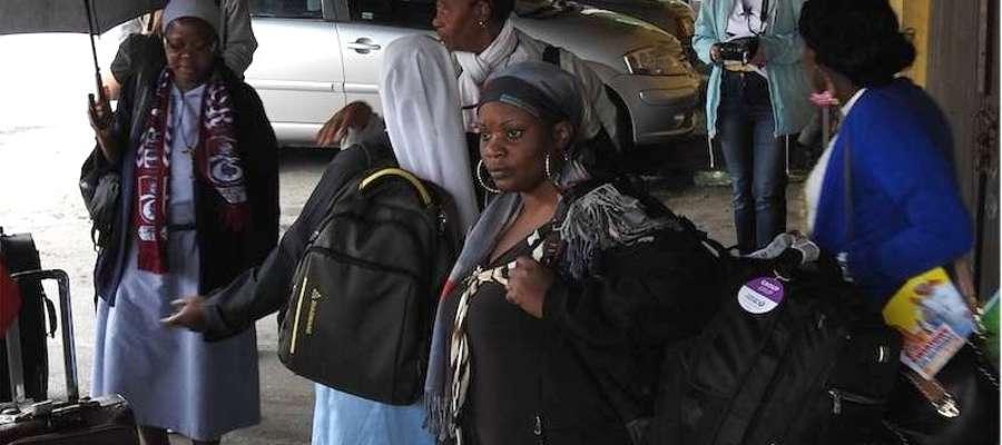 Do sąsiedniego Nowego Miasta Lubawskiego przyjechali już pielgrzymi z Gabonu