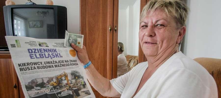 Janina Wolska wygrała w naszym konkursie 100 zł